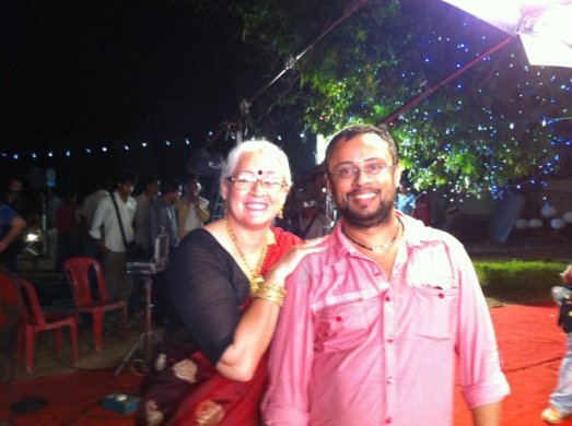 Lal Jose and Nafisa Ali