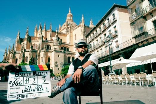While Shooting Spanish Masala